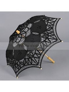 COTTON LACE WEDDING PARASOL FOR FLOWER GIRL