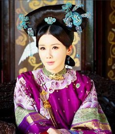 & Empress Dowager Cixi 慈禧太后 paid much attention to the details of her dressing. http://www.pinterest.com/pin/71424344064766387/