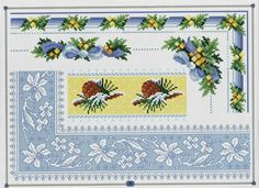 Cross-stitch Floral Borders... no color chart available, just use pattern chart as your color guide.. or choose your own colors..   Gallery.ru / Фото #7 - 3 - Auroraten