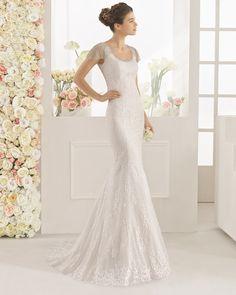 d6466d3200c Aire Barcelona 2017 Bridal Collection has detachable skirts