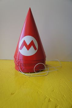 Mario Bros. Birthday party hats