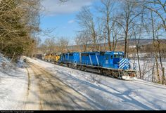 RailPictures.Net Photo: CEFX 3173 New England Central EMD SD40-2 at Putney, Vermont by colmat91