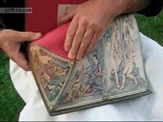 Book fore-edge painting