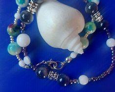 Insieme per sempre bracciale per la coppia perline di giada | Etsy Pearl Necklace, Pearls, Etsy, Jewelry, Jewlery, Jewels, Beads, Pearl Necklaces, Jewerly