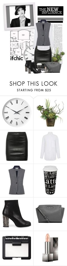"""""""You should see what happens"""" by polybaby ❤ liked on Polyvore featuring Georg Jensen, Allstate Floral, The Row, Atea Oceanie, Könitz, Miista, MICHAEL Michael Kors, NARS Cosmetics, Burberry and ifchic"""