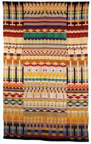 Gunta Stolzl - 'Five Harnesses' 1928  Female German Bauhaus weaver