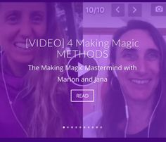 [VIDEO] 4 Making Magic METHODS