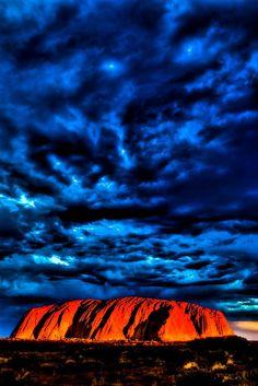 Ayers rock (Uluru) Sunset, Australia