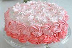Dulciuri Archives - Page 8 of 244 - Dulcinela. Egg Whites, Sweet Cakes, Cream Cake, Love Food, Sweet Recipes, Icing, Sweet Tooth, Vanilla, Birthday Cake
