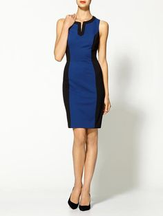 Piperlime | Colorblock Ponte Dress