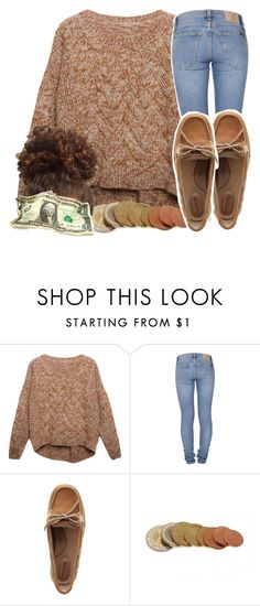 """trust and believe -Keyshia cole"" by pretty-ambi ❤ liked on Polyvore featuring Relaxfeel, Nudie Jeans Co., Sperry Top-Sider, women's clothing, women, female, woman, misses and juniors"
