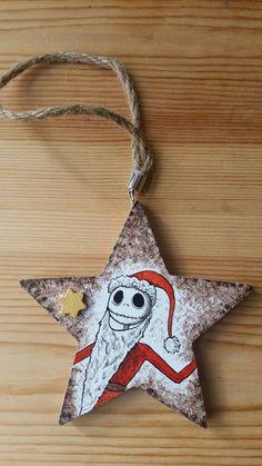 Addobbo natalizio Jack di IsolaSospesa su Etsy