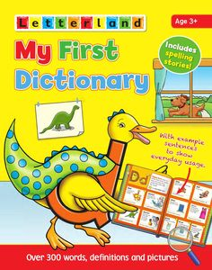 The Letterland My First Dictionary introduces your child to the alphabet and some essential first words. Each page is carefully designed with the full alphabet running down the side, simple definitions and bright illustrations to reinforce meaning. Learning Tools, Fun Learning, English Books For Kids, English Textbook, Dictionary Skills, Abc School, Phonics Books, Simple Definition, Spelling Patterns