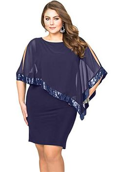 Black Mesh Overlay Sequined Plus Size Dress Poncho Black Sequined Mesh Overlay Plus Size Poncho Dress Plus Size Bodycon Dresses, Plus Size Mini Dresses, Vestidos Plus Size, Plus Size Cocktail Dresses, Plus Size Outfits, Sequin Cape, Poncho Dress, Plus Size Fashion, Fashion Dresses