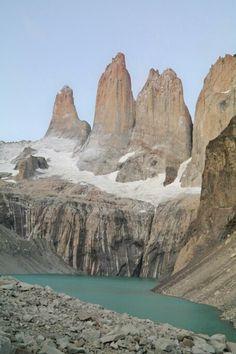 Torres del Paine before sunrises