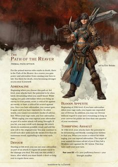 Post with 3868 votes and 157561 views. Tagged with art, dnd, dungeonsanddragons, dndhomebrew; Some dnd art and subclasses i have collected over the last week or to. Dungeons And Dragons Classes, Dungeons And Dragons Homebrew, Barbarian Dnd, Dnd Dragons, Dnd Races, Dnd Classes, Dnd 5e Homebrew, Science Fiction, Dragon Rpg