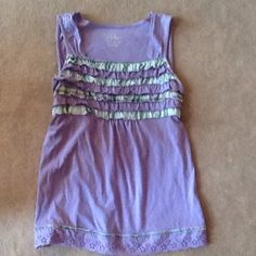 Justice knit camisole top. Girls 16. Comfy and dressy. Very light wear. One of my favs. Girls 16 but I think it fits smaller. Justice Shirts & Tops Tank Tops