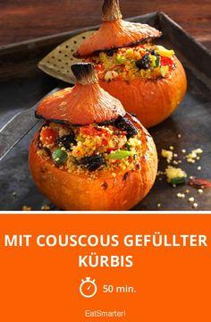 Mit Couscous gefüllter Kürbis - smarter - Zeit: 50 Min. | eatsmarter.de