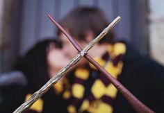 A Harry Potter - Inspired Engagement Session | Mon Petit Studio | blog.theknot.com