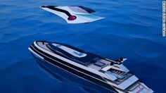 A Russian designer has created a superyacht concept that can transform itself into a jet plane and a helicopter.