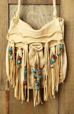 Native Fringe Handbag