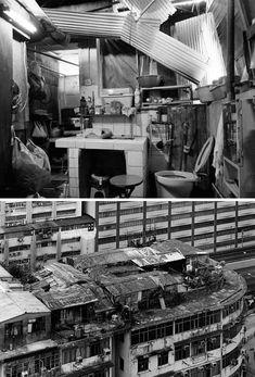 rooftop slums_Hong Kong