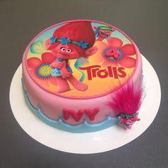 Birthday Sheet Cakes, 2 Birthday Cake, 8th Birthday, Trolls Birthday Party, Troll Party, Birthday Parties, Shrek, Cute Cakes, Party Themes