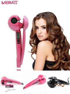 [Visit to Buy]  2017 Hair Curling Iron Magic Hair Curler Steam Perm Curlers Steamer Curl Srceen Hair Styling Tools Hair Curl Spray  #Advertisement