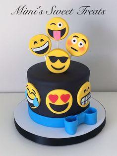 Resultado de imagen para Emoji Cake