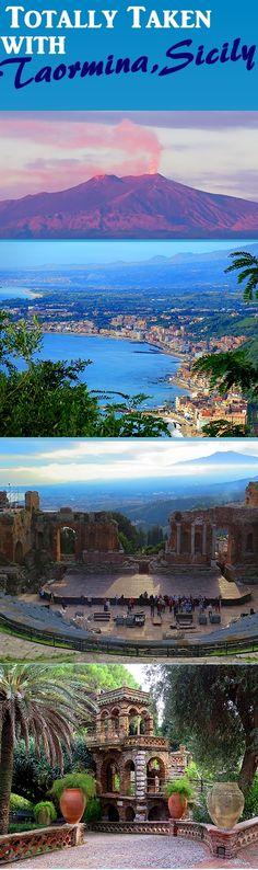 Bucket List Item: Gorgeous Taomina, Sicily!