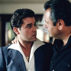 Ray Liotta and Paul Sorvino in Goodfellas Ray Liotta, Goodfellas Quotes, Goodfellas Movie, Movie Reels, Movie Tv, Casino Quotes, Best Movie Lines, Netflix, Gangster Movies