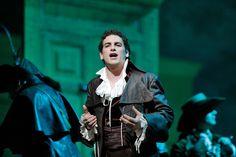 Juan Diego Flórez sings Prince Ramiro in Rossini's La Cenerentola.photo by Ken Howard.