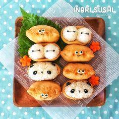 おいなりさんが可愛く大変身♡お弁当に入れたいアレンジいなり寿司(^^) - SnapDish 1000万投稿から人気のレシピと料理が見つかるお料理カメラ