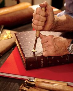 Paul Vogel's Bespoke Bookbindery in New York City : News, Culture + Travel : Architectural Digest