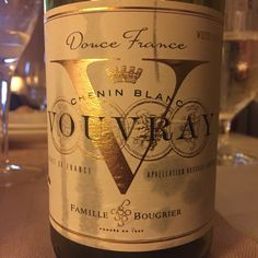 A simple but delicious Chenin Blanc from adorable Vouvray, France!  Cheers!