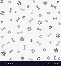 Illustration about Background with dog paw print and bone, digital scrapbook. Illustration of wallpaper, graphic, footprint - 43949441 Paw Print Background, Paper Background, Dog Toy Basket, Puppy Room, Dog Scrapbook, Scrapbook Patterns, Black And White Dog, Web Design, Dog Wallpaper