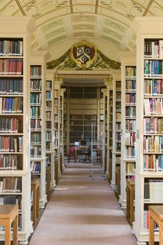 Brasenose College Library, Oxford. Photo: Daugirdas Racys: