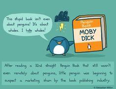 Poor penguin!