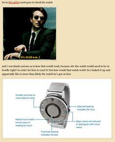 matt murdock/daredevil text post meta blind person's watch