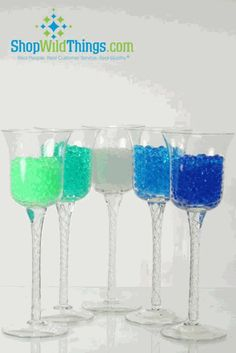 Water Pearls - Jelly Decor - Water Crystal Beads - Small Beads Makes 1.5 Gallons (10 Colors Available)