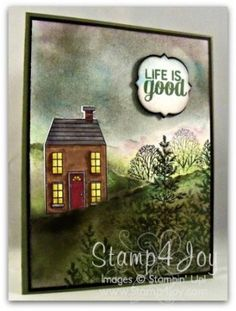 Stampin' Up! Card Ideas: Holiday Home