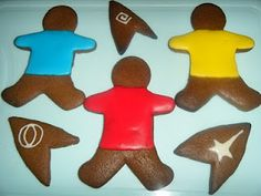 Star Trek Gingerbread