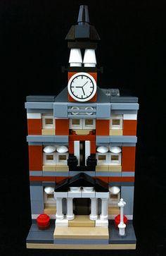 Mini Town Hall Front Facade