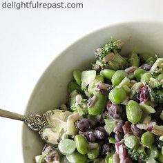 Broccoli Salad - A High Protein Version