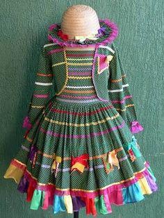 vestido de adulto festa junina - Pesquisa Google