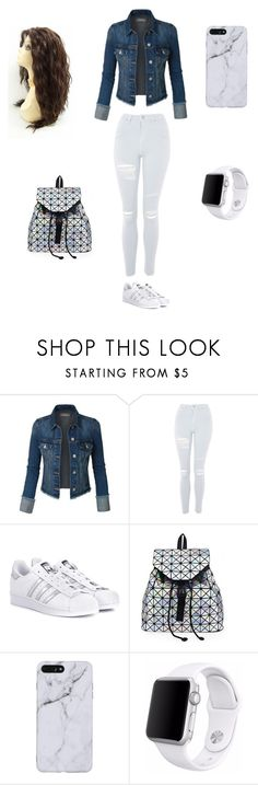 """Untitled #3"" by rysava-natalie on Polyvore featuring Topshop, adidas Originals and Apple"