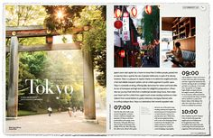 One Perfect Day in Tokyo in Qantas magazine by Hello Sandwich