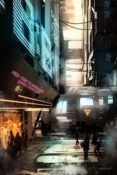 ArtStation - Environments, Fabio Comin