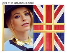 """""""Get The London Look ?"""" by aatkins ❤ liked on Polyvore featuring beauty"""