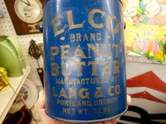 Two-part stencil?  Elco Brand Peanut Butter. | Flickr - Photo Sharing!